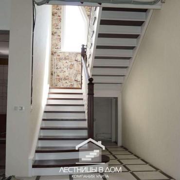 Лестница с комбинированной покраской в г. Павловский Посад и Московская область